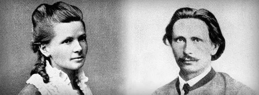 Picture of Bertha Benz and her husband